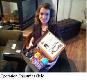 Operation Christmas Child 2012